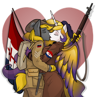 Love in War by wolfjedisamuel