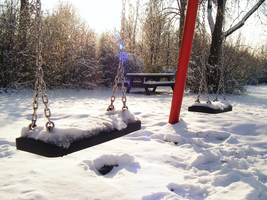 winter playground by Lucy-Redgrave