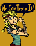 We Can Train It by Crownflame