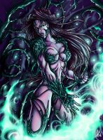 Witchblade by Daelyth