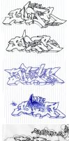 Ballpoint Rock USA by faro