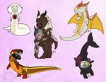 Cheeb Friends Cont'd by Battleferrets