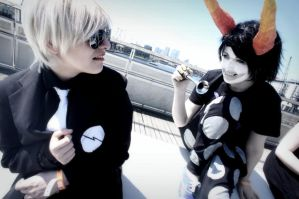 Gamzee/Dave - Homestuck - London MCM Expo by arielleattack