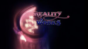Reality Works Wallpaper logo design 1 by Solace-Grace