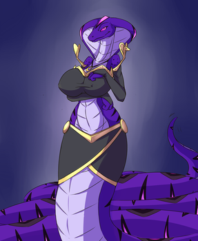 [Gift art] Faarah, The Naga Beauty. Descrip by Wouhlven