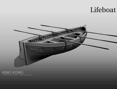 King kong - Lifeboat model 2 by 3DnuTTa