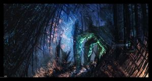 The Cave by Juhupainting