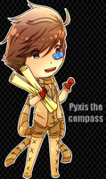 Pyxis the compass by xTickie-Tockx