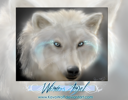 .:: Winters Angel ::. by KovoWolf