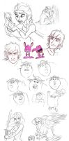 Big Sketch Dump by AriellaMay
