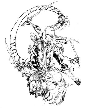 SPIRAL_commission by EricCanete