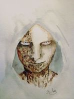 Ruvik of the game The Evil Within by MsCoks