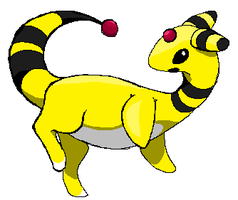 Ampharos by racheart