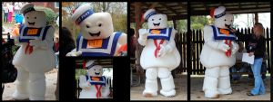 Mr. Stay Puft Costume by hiredhand