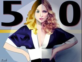 50th deviation- madonna by haveacookie