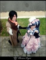 Sebastian and Ciel by Yukishir0