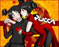 Pucca loves Garu - Gift by Mookyvet