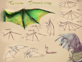 #Tutorial Dragon's Wing by Roxaoleen