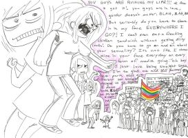 Now I'm NOT a homo hater but....rant page by Czechmix-sempai
