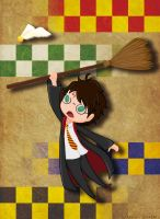 Harry and Broom and Something Went Wrong by pisces219320