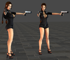 Lara Catsuit wip2 by tombraider4ever