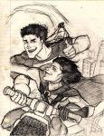 BROS4LYFE: Superboy + Robin by none-of-the-sort