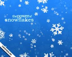 the power of snowflakes by pimpmydesk