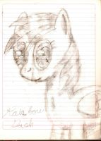 Pencil Art: Rainbow Dash by DarkBrony181