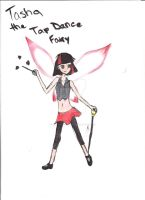 Tasha the Tap Dance Fairy by NeilTuOderschvank