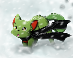Comission: Snow Storm by Airmon