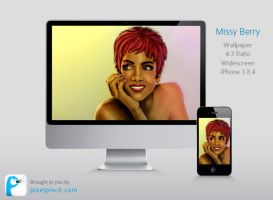 Missy Berry - Wallpaper Pack by abhashthapa