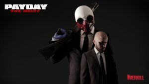 Payday: The Heist - Classic Wolf Wallpaper by Copaz