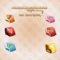 Pack candybars iconos-leer by Stephanie-wy