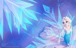 Frozen Fractals by Penny-Dragon