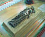 3D Anaglyph Princess Elizabeth Stuart by Nathanial-BB