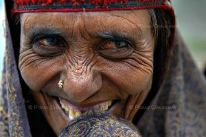 A Bakarwal Lady by poraschaudhary