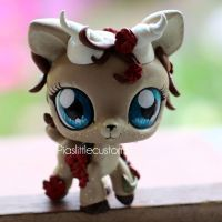 Faun Princess OC LPS custom by pia-chu