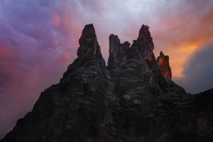 Haunted Peaks by RobertoBertero