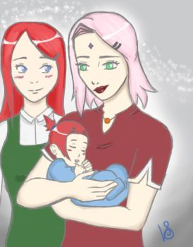Naruto Parallels: Happy Mothers Day! by halogirl237
