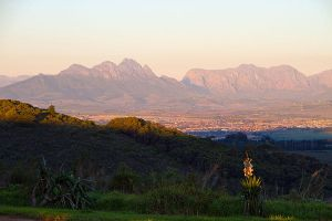 Sunset over the Simonsberg by parallel-pam