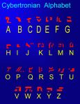 Cybertronian Alphabet by AgentHex