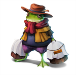 Merchant Froggy by aszereth