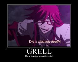 Grell by motionlessdoll