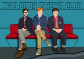 Two Door Cinema Club by pencil-addict