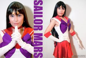 Cosplay: Sailor Mars by lonelymiracle