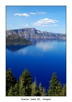 Crater Lake 1 by samtihen
