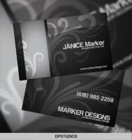 Interior Design Business Card by DigitalPhenom