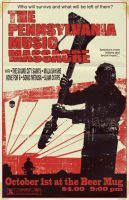 PA Music Massacre Flyer by markwelser