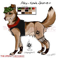 Alex ref sheet by AgentWhiteHawk