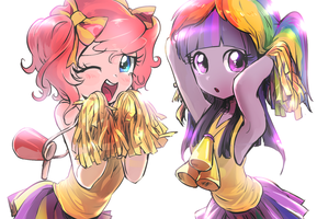 Cheergirls by quizia